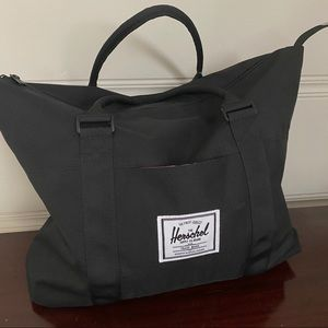 Herschel Supply Co. Large Black Canvas Tote
